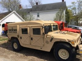 Brown DEEMI Humvee